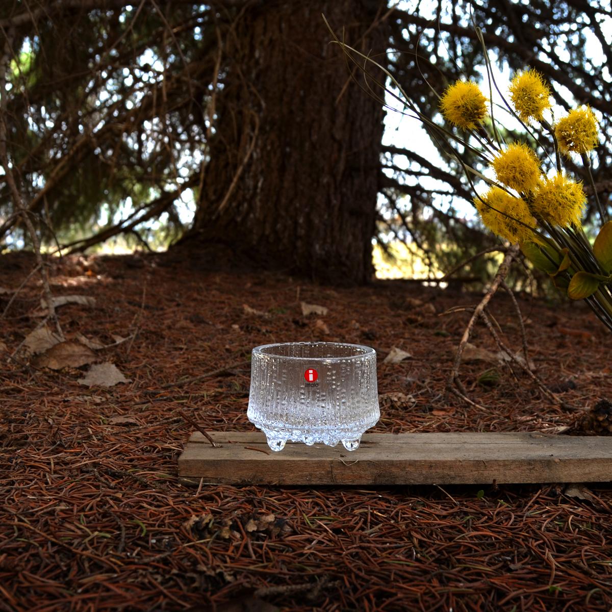 Cốc đựng nến thủy tinh cao cấp Ultima Thule, đường kính 65mm Iittala