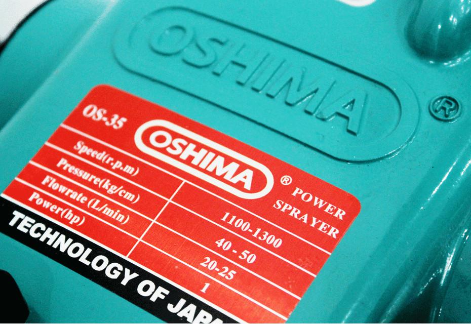 Đầu xịt Oshima OS 35 - sức mạnh đến từ Nhật Bản