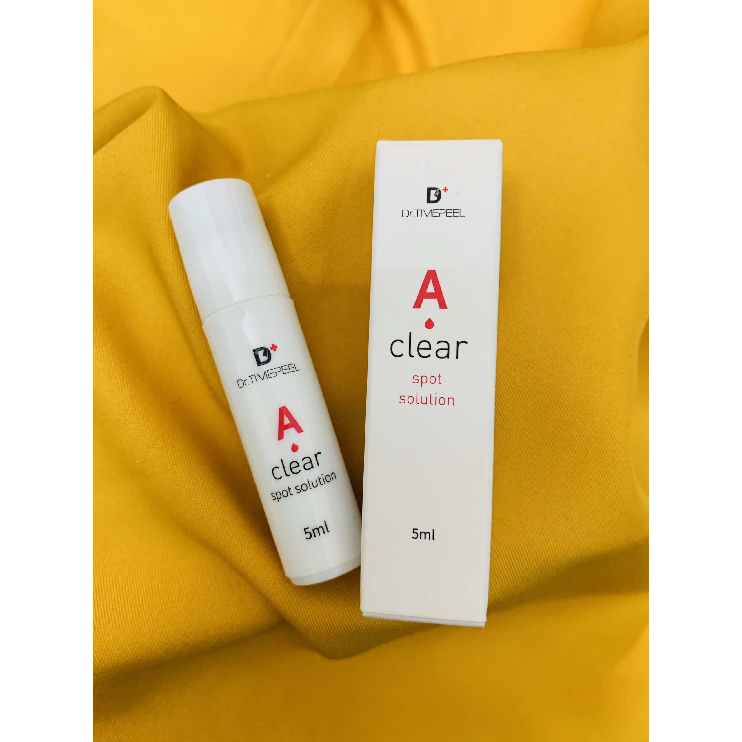 Dr.Timepeel A Clear Spot Solution DR TIMEPEEL A CLEAR SPOT SOLUTION THANH LĂN MỤN DR SKIN HÀN QUỖC