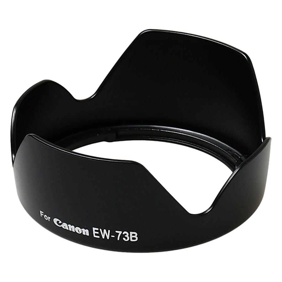 Lens Hood EW-73B Cho Canon Ef-S 17-85mm, 18-135mm (Lót Nhung) - Hàng Nhập Khẩu