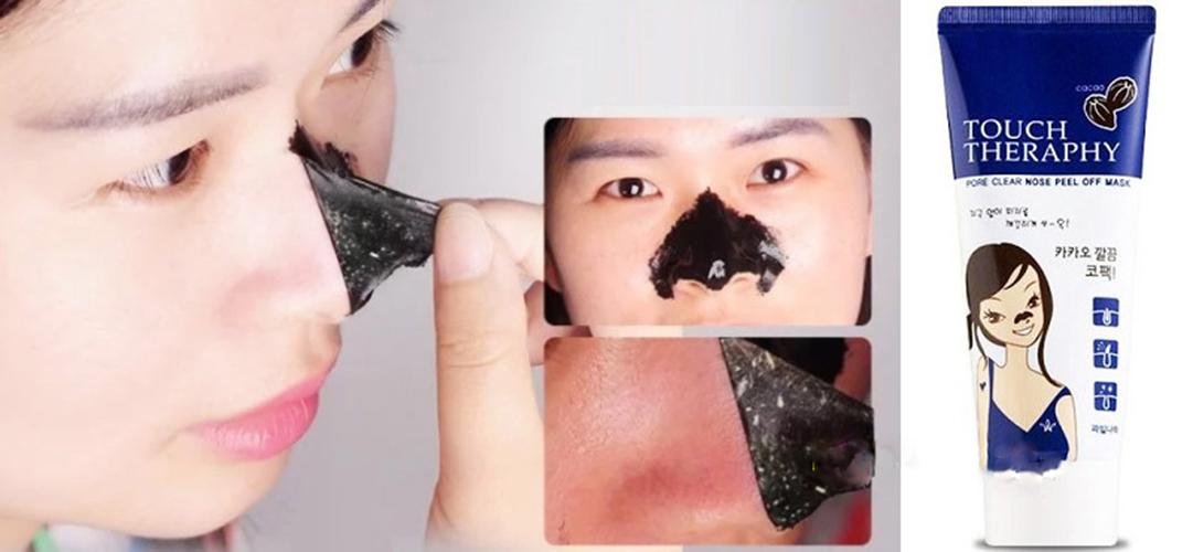 Gel lột mụn mũi Touch Therapy Cacao pure Clear Nose pack tặng kèm móc khóa (tuýp-60ml)
