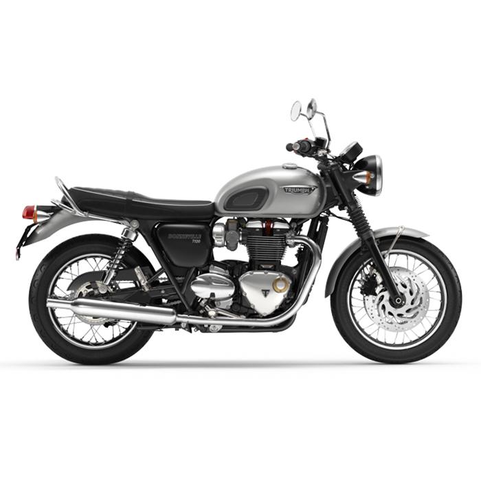 Xe Môtô Triumph Bonneville T120 ALUMINIUM SILVER