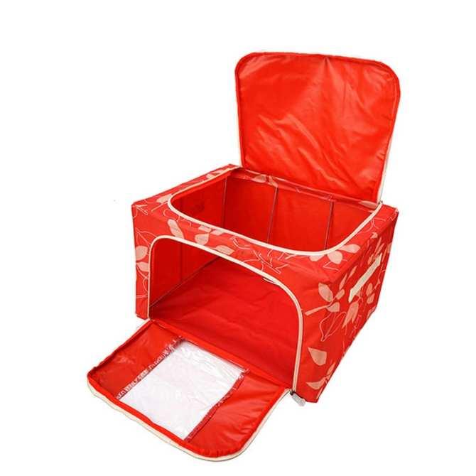 Túi đựng chăn màn quần áo khung sắt gấp gọn tiện lợi