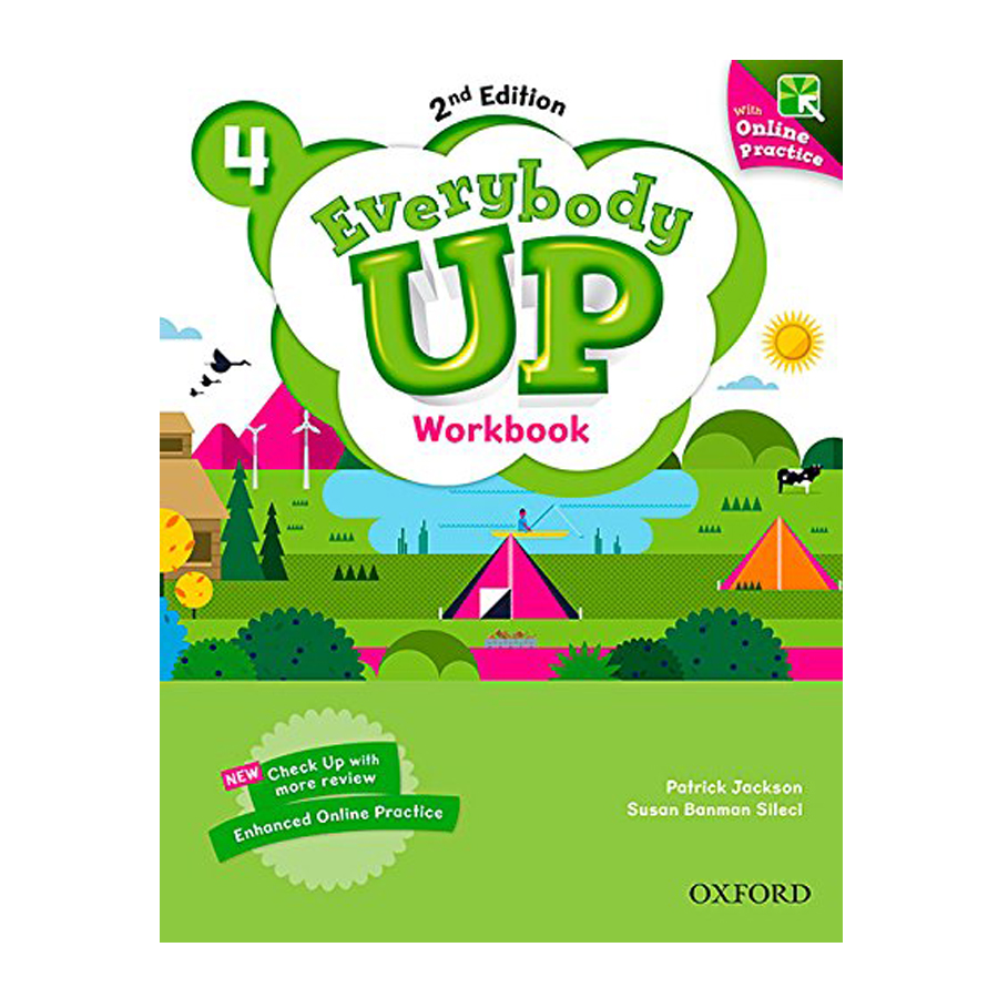 Everybody Up (2E) 4 Workbook With DVD And Online Practice Pack