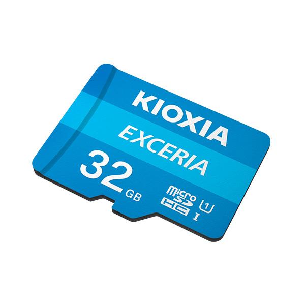 Thẻ nhớ 32GB Micro SDHC Exceria UHS-1 C10 100MB/s Kioxia (Có Adapter) - Hàng Chính Hãng