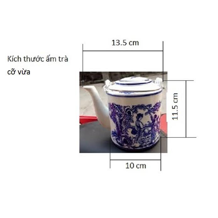 Vỏ bình trà bằng trái dừa khô cỡ vừa (khoảng 600-700ml)