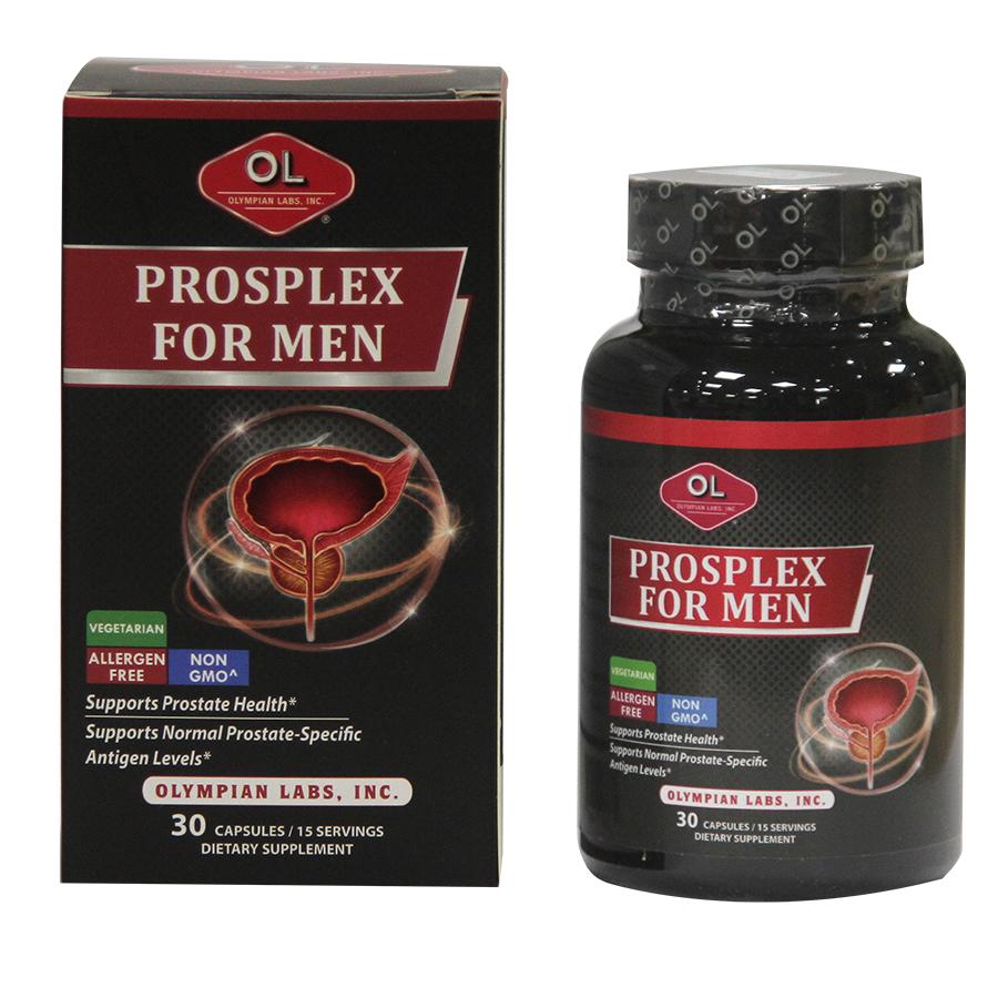 Thực Phẩm Chức Năng Prosplex For Men Hỗ Trợ Phòng Ngừa Và Giảm Viêm Tuyến Tiền Liệt, Chấm Dứt Tiểu Đêm