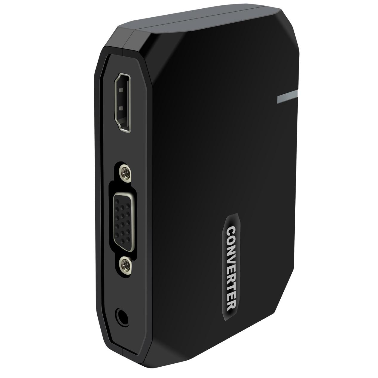 Cáp MHL to HDMI & VGA/ AV cho iPhone, iPad cổng lightning - P10658