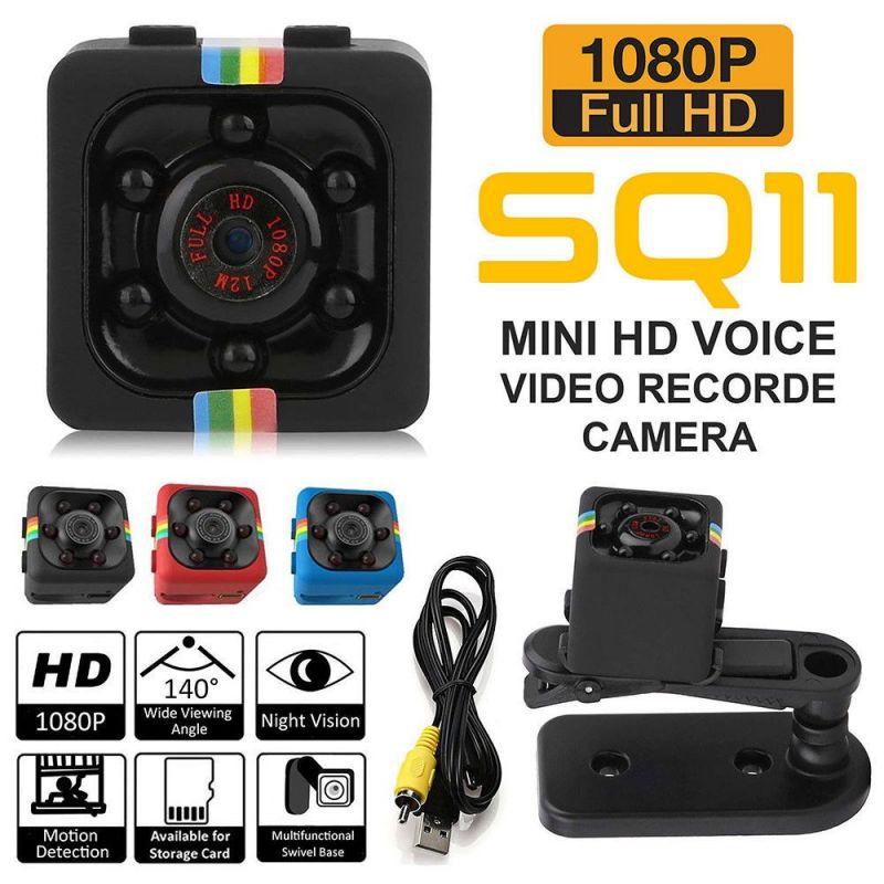 Camera Mini DV SQ11 FullHD 1080P Hỗ Trợ Hồng Ngoại Tầm Nhìn Ban Đêm Cao Cấp
