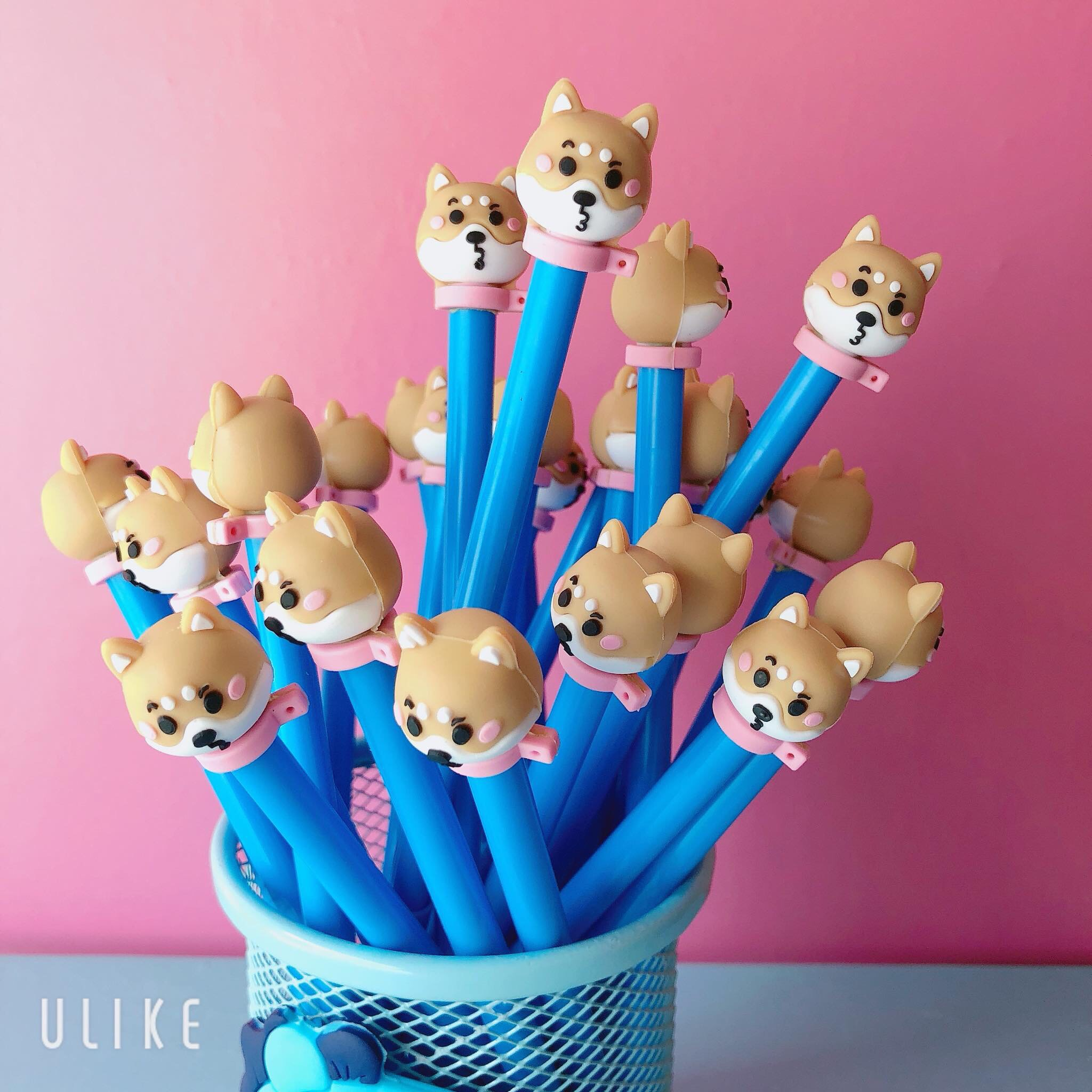 Set 10 bút Cute lẫn lộn hình