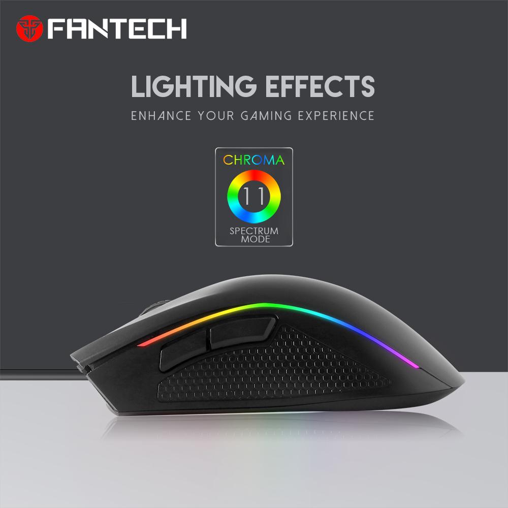 Chuột Gaming Fantech TITAN X4S ( LED Chroma + phần mềm riêng ) - Hàng chính hãng