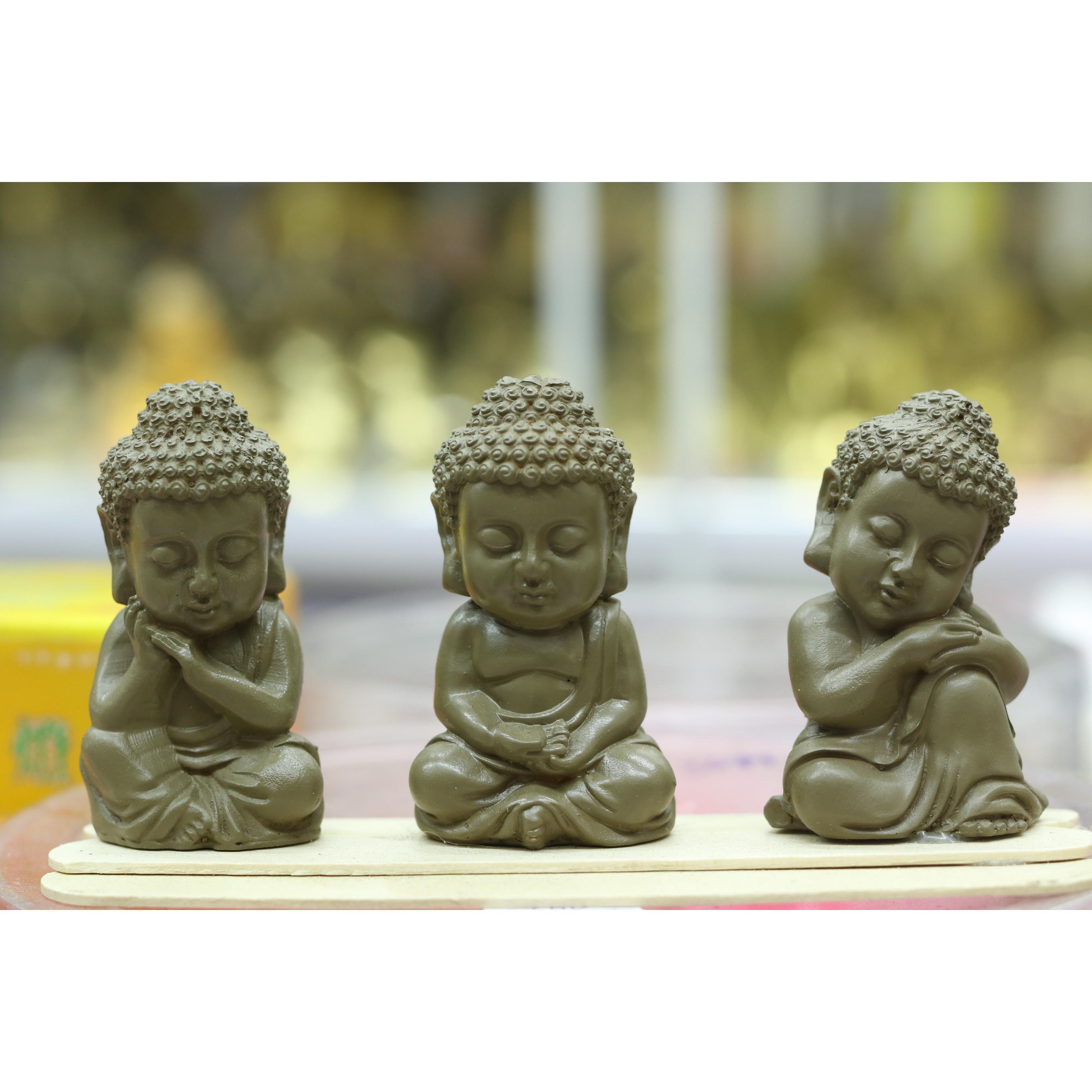 Tượng Phật Thích Ca Nhí ( Bộ 3 Tượng )