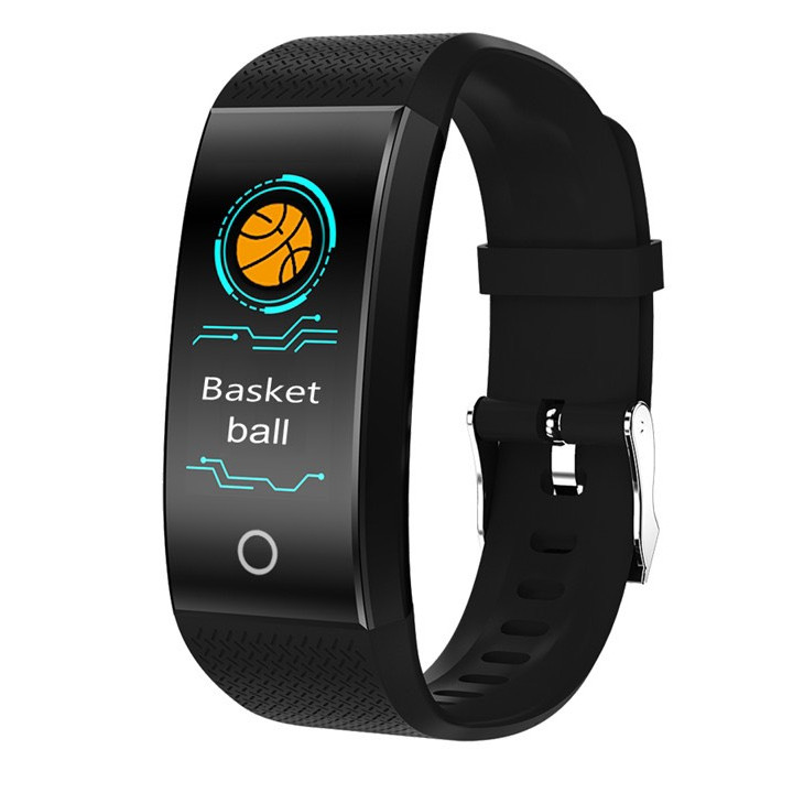 Vòng đeo tay thông minh Đo Nhịp Tim kết nối Bluetooth , Chống Nước , Thể Thao ,Theo Dõi Sức khỏe,Theo dõi vận động - Đen