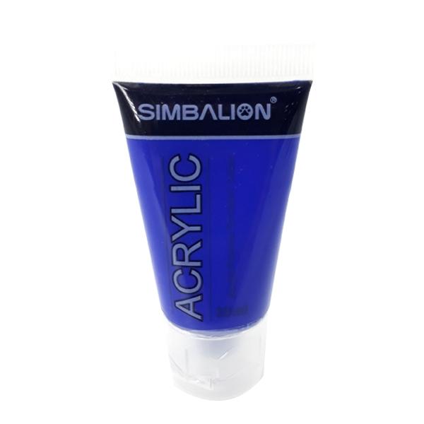 Màu Vẽ Simbalion Acrylic 30ml NAC30-09 - 46E - Xanh Cobalt