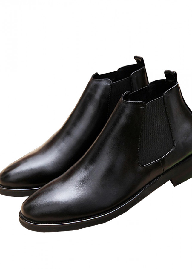 Giày Boot Cao Cổ Da Bò Thật 100% Nguyên Tấm 2BH - 53