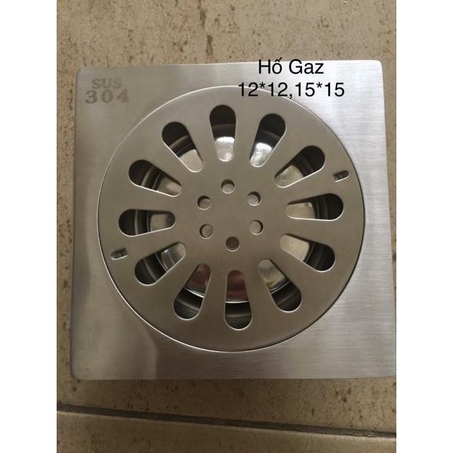Phễu Thoát Sàn 15x15cm Inox Dày 304 , dày 1.2 mm