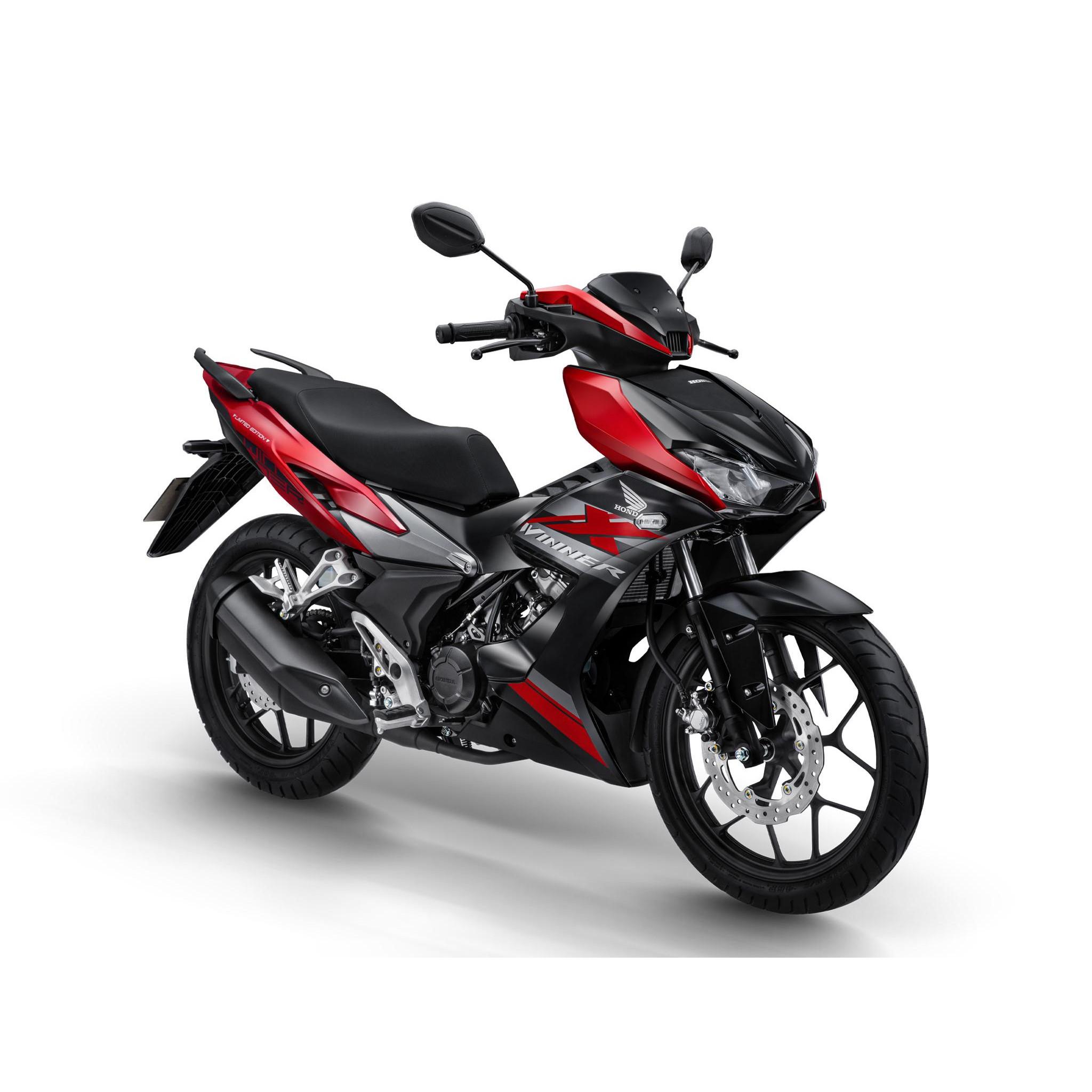 Xe Máy Honda Winner X - Phiên Bản Giới Hạn - Đen Đỏ Xám