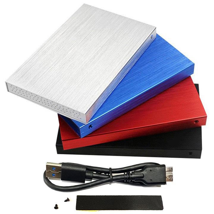 01 box ổ cứng 2.5 inch SATA USB3.0 vỏ nhôm cao cấp U23YA