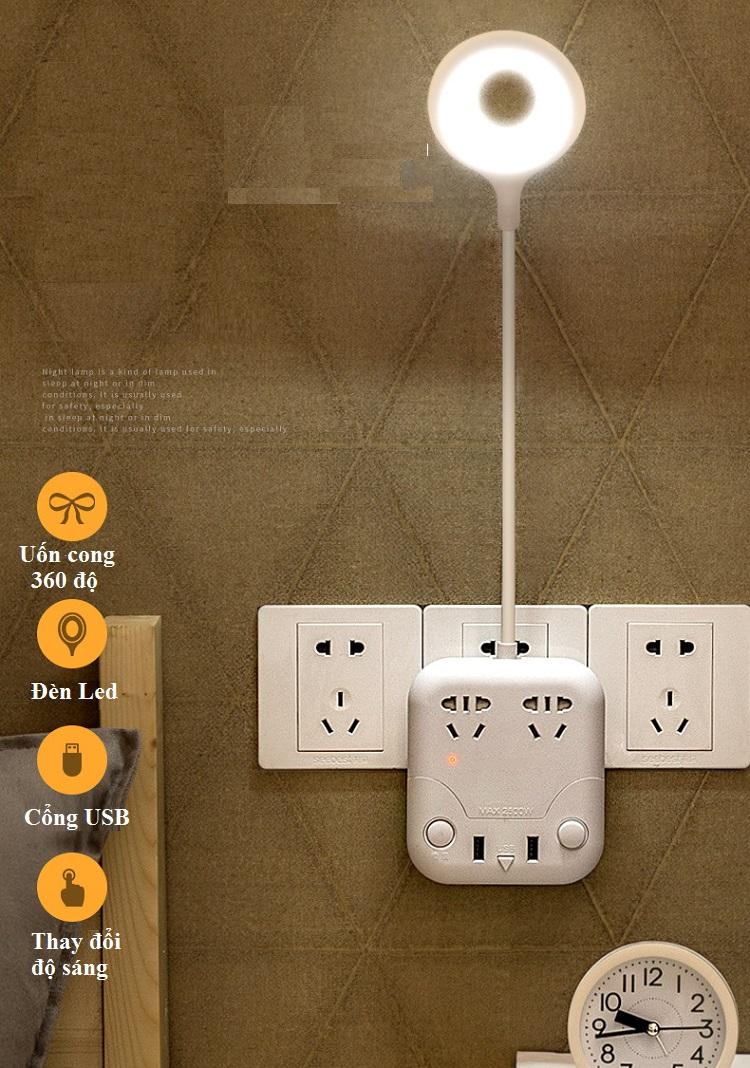 Ổ cắm chống sét đa năng MEO.T-1 Sản phẩm không thể thiếu cho ngôi nhà thông minh (Tặng kèm 3 miếng dán siêu chắc)