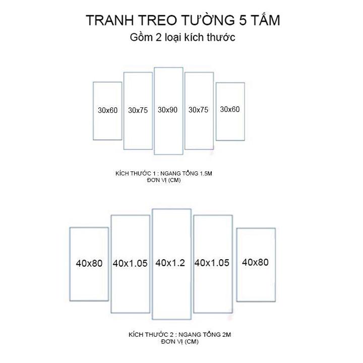 Tranh Treo Hoa Sen |Mẫu 2