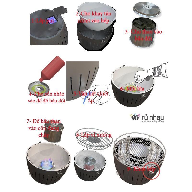 Combo 5 cồn gel nhóm bếp nướng,cồn nhóm bếp đi du lịch,cồn nướng xuất khẩu