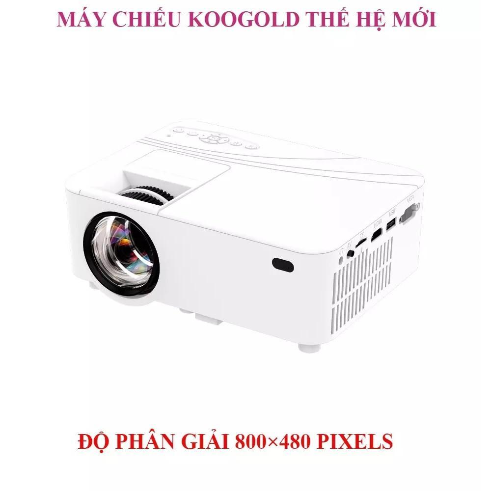 Máy Chiếu Mini KOOGOLD Smart LED Projector Full HD 1080p Support Max 60 inch