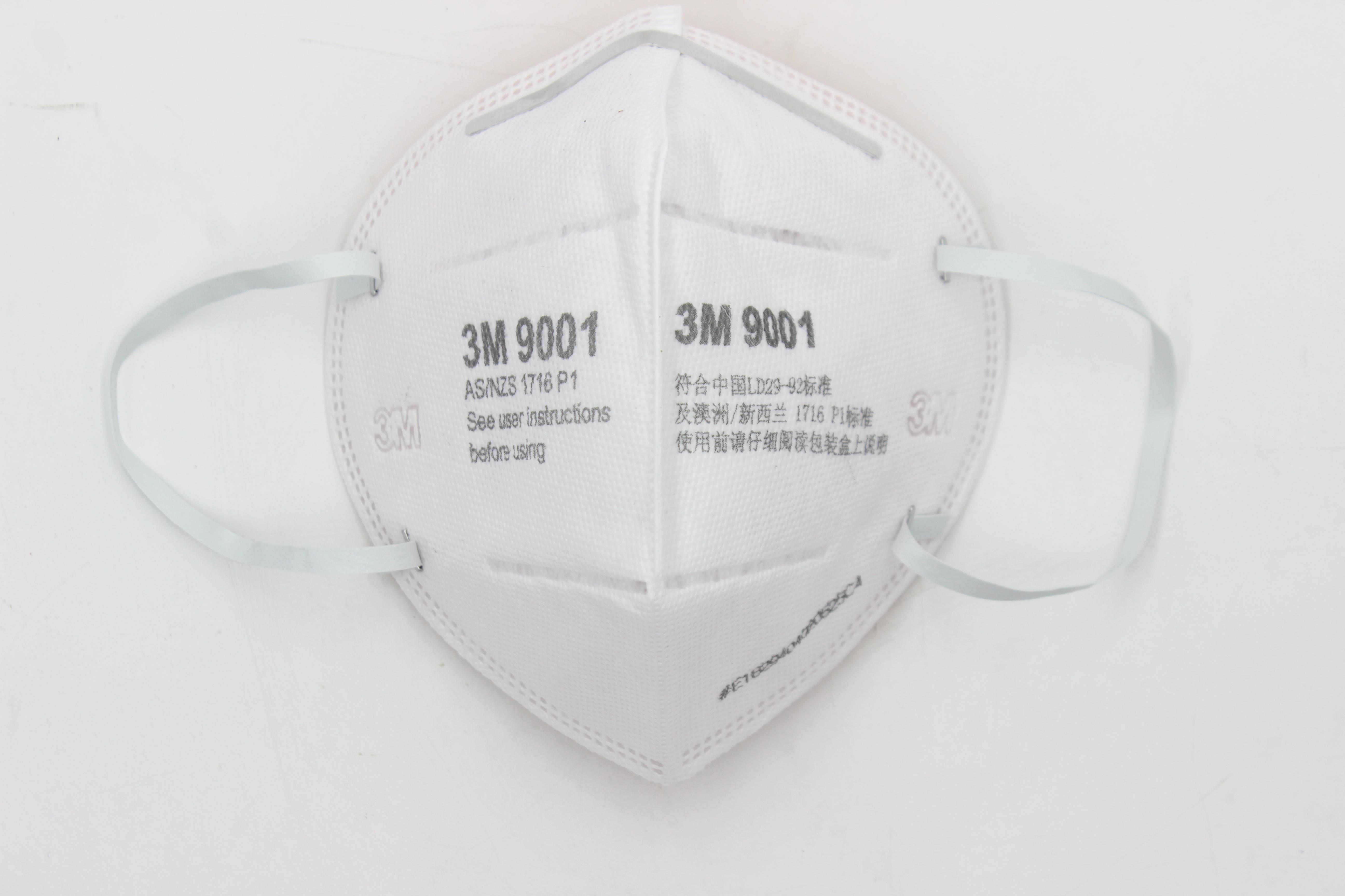 Bộ 1 Khẩu trang bảo vệ hô hấp, chống bụi 3M + tặng nút tai 3M 1100