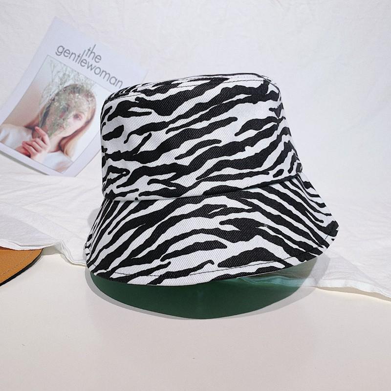 Mũ bucket mẫu mới họa tiết ngựa vằn