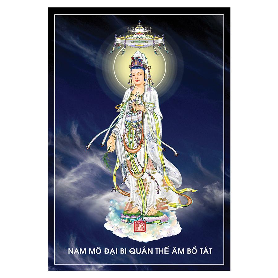 Tranh Phật Giáo Quan Thế Âm Bồ Tát 2344