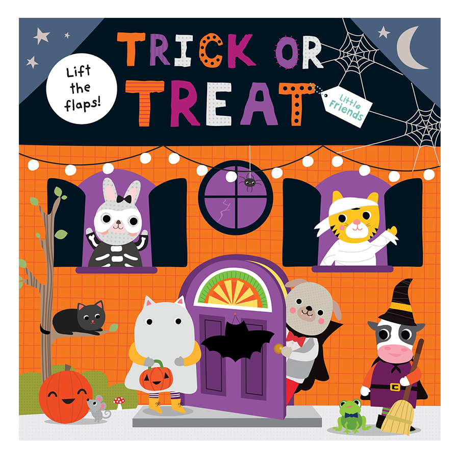Trick or Treat: Little Friends (A lift-the-flap book) (Little Friends Series)