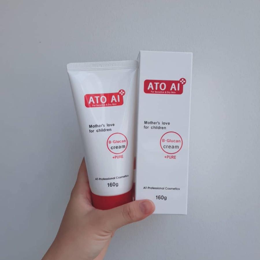 Kem dưỡng ẩm an toàn và lành tính dành cho da nhạy cảm chiết xuất thiên nhiên ATO AI 160g