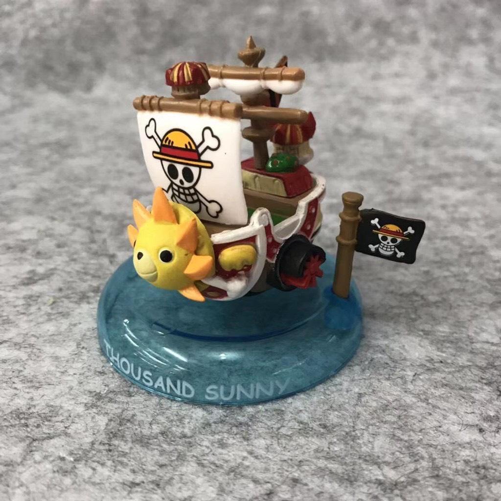 Set 6 Mô Hình Thuyền Trong Phim Hoạt Hình - One Piece