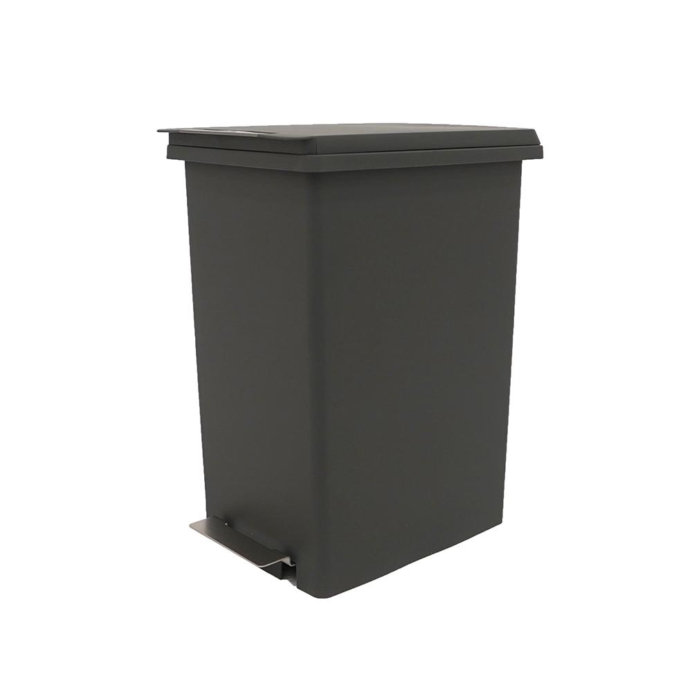 Thùng rác JYSK Mala nhựa PP xám