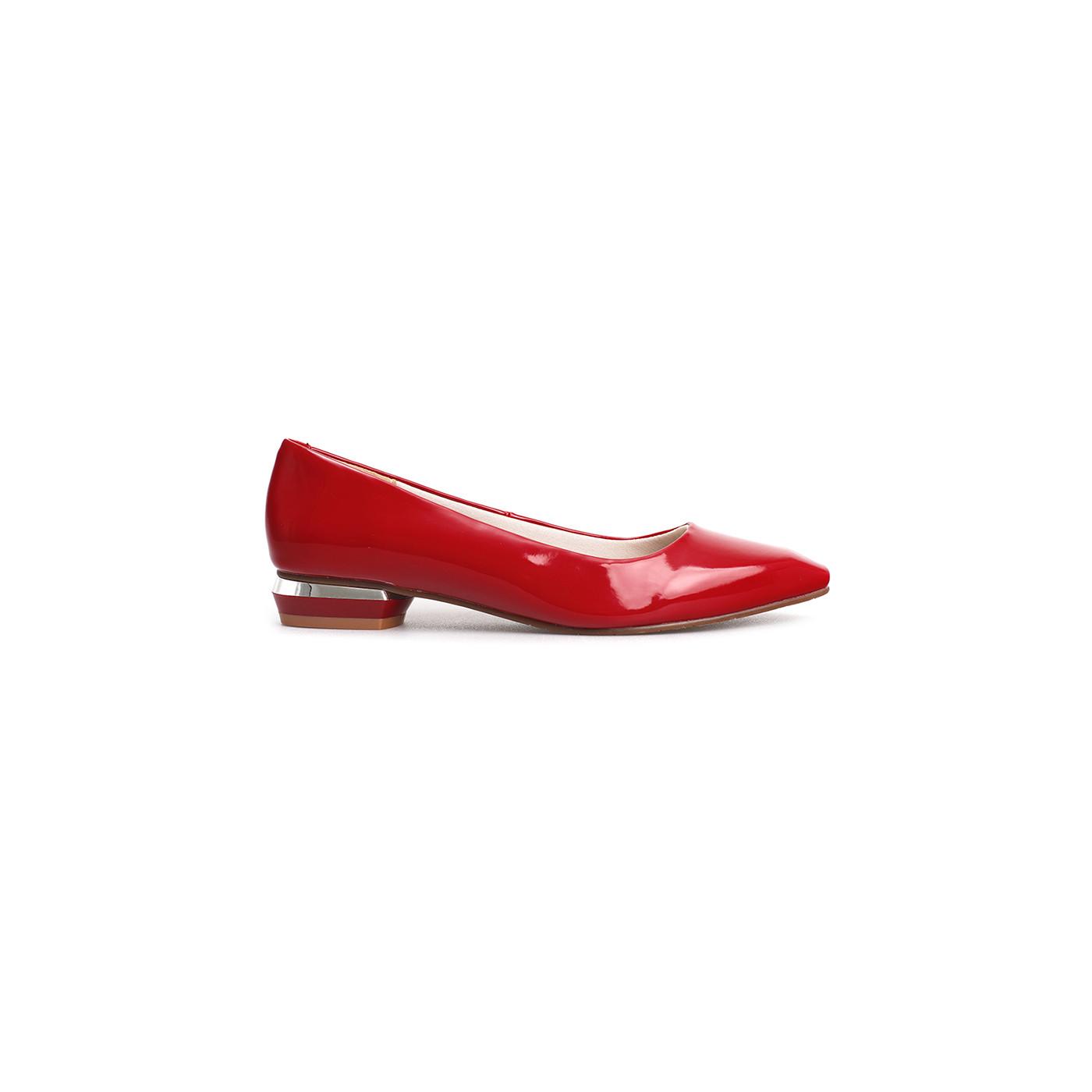 Giày Búp Bê Mũi Nhọn Nữ Da Cao Cấp Nhẹ Êm Chân Thương Hiệu PABNO - PN423