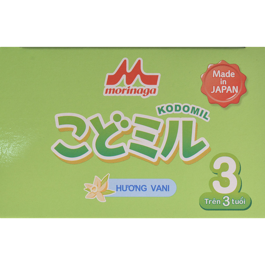 Combo 2 hộp Sữa Morinaga số 3 Hương vani (Kodomil) 216g
