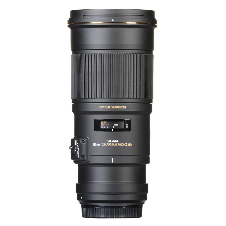 Ống kính Sigma 180 F2.8 APO MACRO EX DG OS HSM For Nikon - Hàng chính hãng
