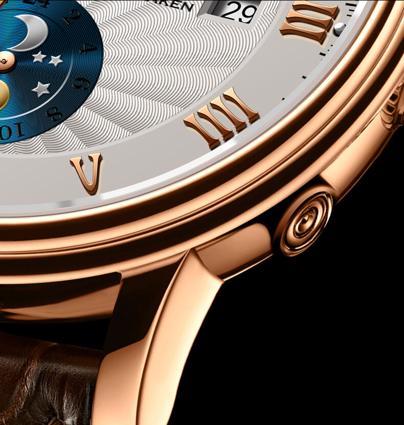 Đồng hồ nam chính hãng Lobinni No.1023LT