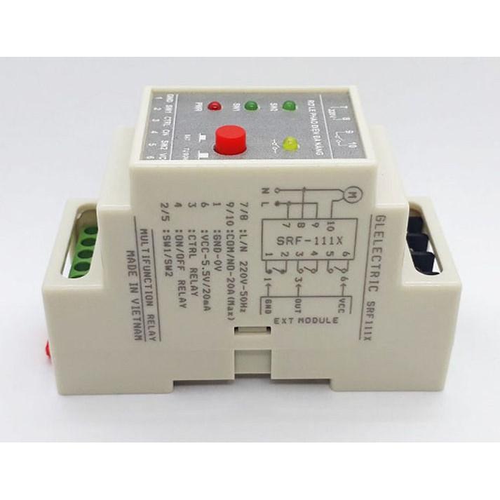 Rơ le an toàn cho phao điện công suất cao / Rơ le điều khiển đa năng