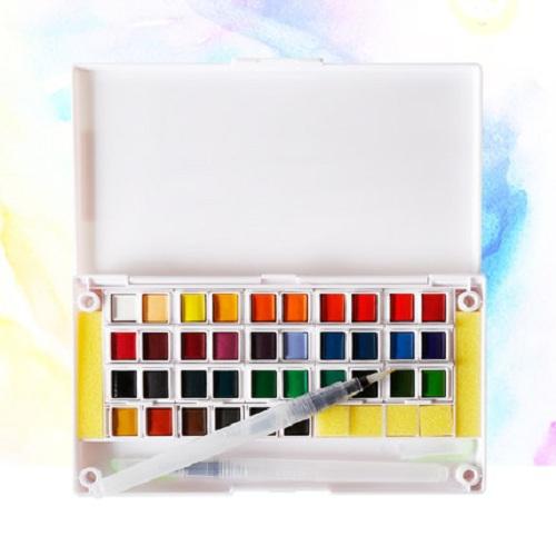 Màu nước dang nén 36 màu