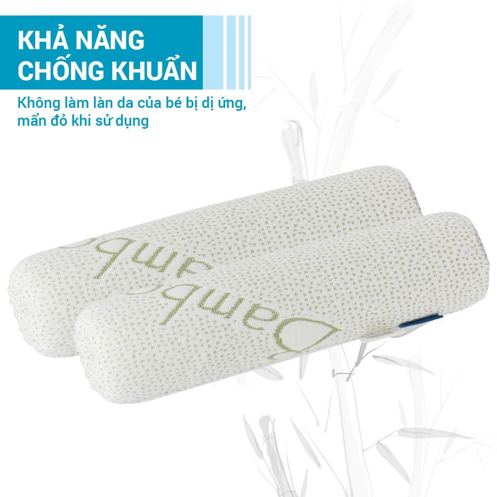 Gối chặn sợi tre bamboo Comfybaby CFN02