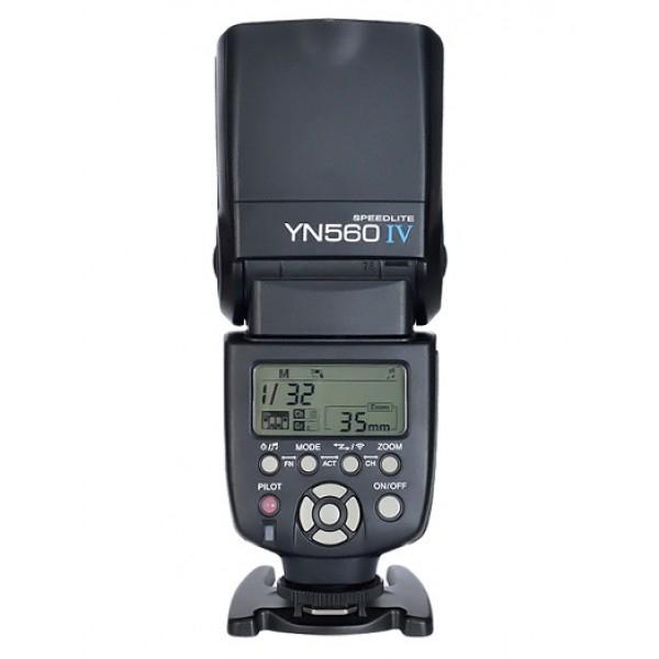 Đèn Flash Yongnuo YN-560IV Manual (Đen) - Hàng Nhập Khẩu
