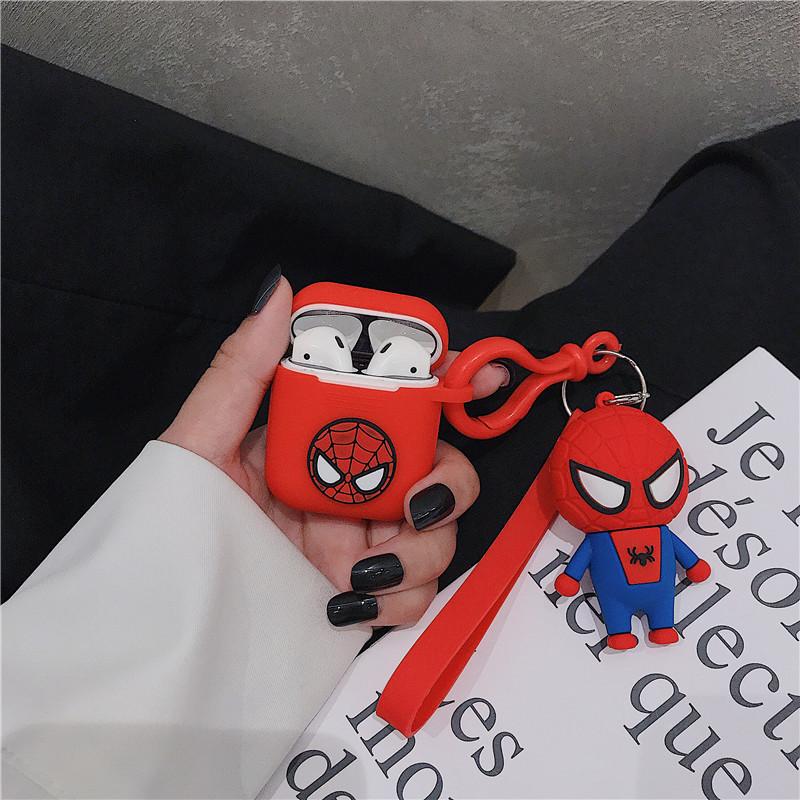 Ốp Silicone dẻo bảo vệ Dành Cho Airpods Pro - Superheros figure - Hàng Chính Hãng