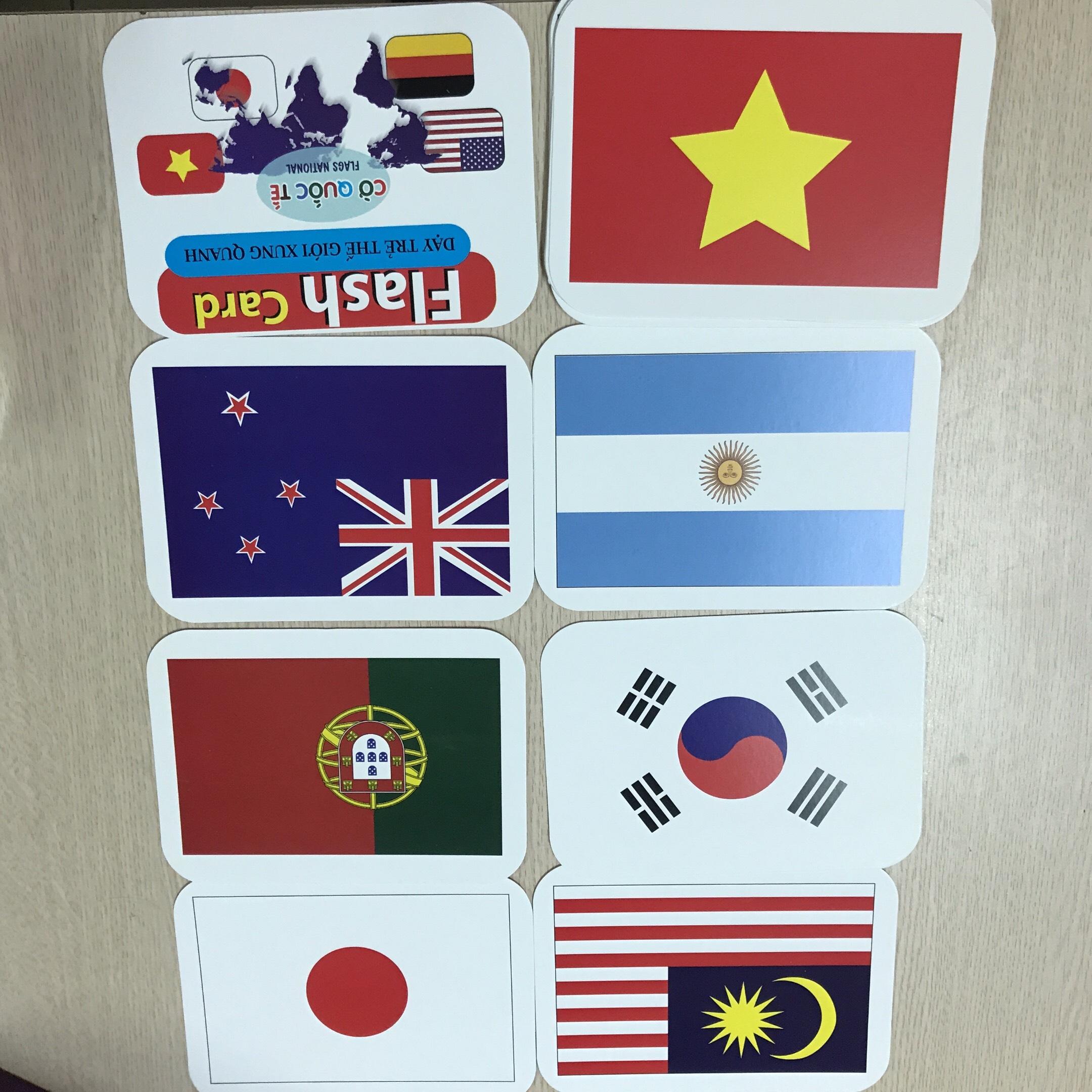 Thẻ Học Thông Minh Song Ngữ Anh- Việt Cho Bé