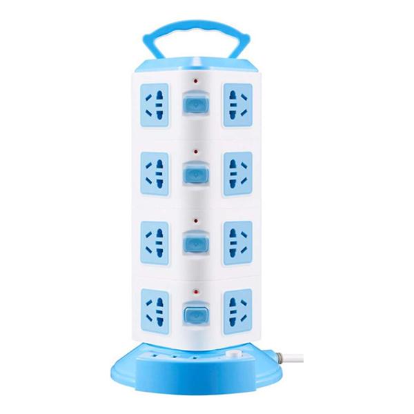 Ổ Cắm Điện SUNTEK Đa Năng 4 Tầng 16 Chân Cắm Điện, 3 Cổng USB