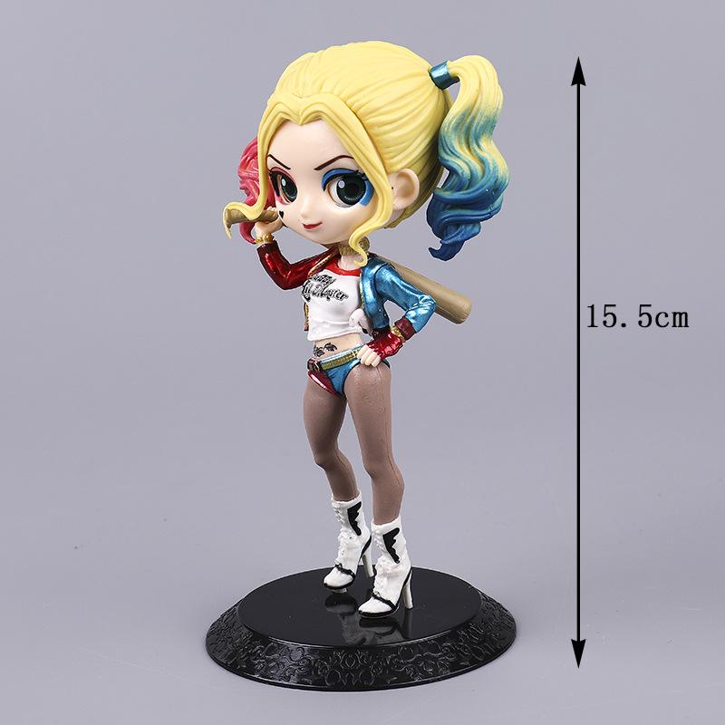 Mô hình nhân vật Harley Quinn HQ126 15.5cm
