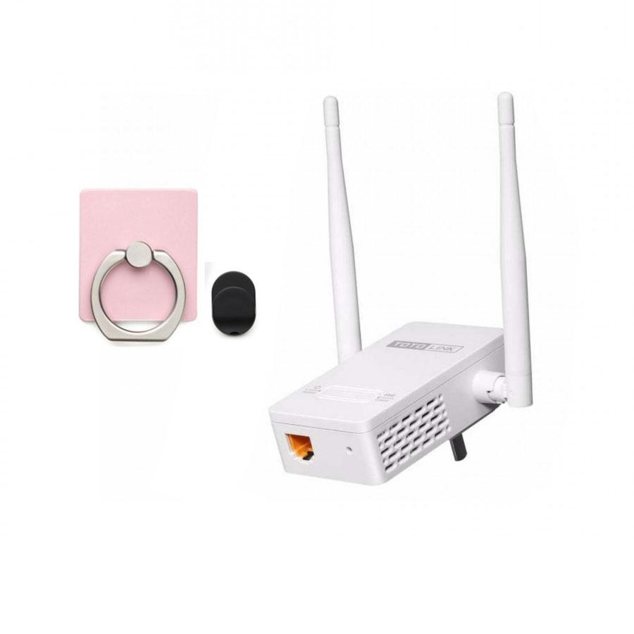 Thiết bị mở rộng sóng wifi TOTOLINK EX200 tặng Giá đỡ điện thoại thông minh - Hàng Chính Hãng