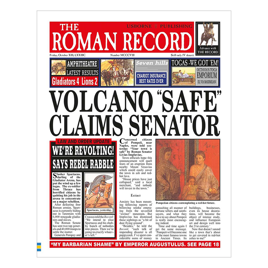 Usborne Newspaper Histories: The Roman Record