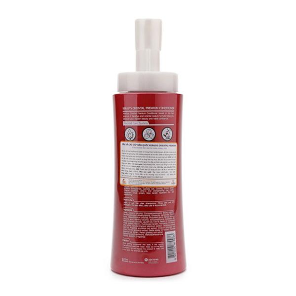 Cặp dầu gội/xả phục hồi tóc Kerasys Oriental Premium Hàn Quốc 400ml Kèm móc khoá