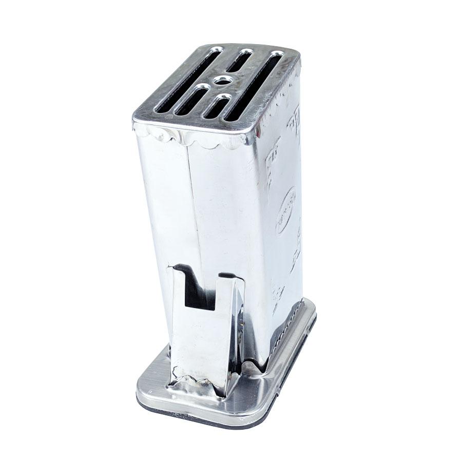 Khay cắm dao inox 7 ngăn cao cấp GS00740