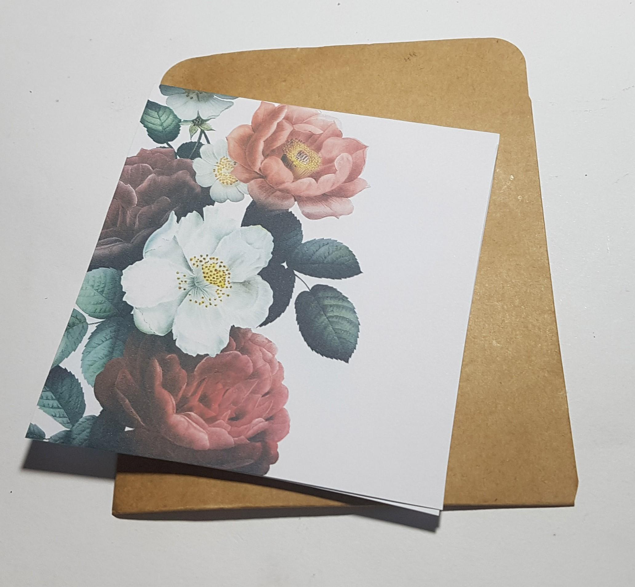 Thiệp phong cách Vintage card quà cám ơn ,chúc mừng sinh nhật và giử tặng người thân yêu